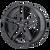 16x7 5x4.5 5.57BS AR907 Gloss Black - American Racing