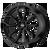 22x9 5x115 5.79BS AR932 Splitter Satin Black - American Racing