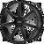 22x9.5 5x5 6.75BS AR938 Revert Satin Black Milled - American Racing