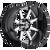 22x12 8x170 4.77BS D260 Maverick Chrome Plated - Fuel Off-Road