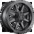 18x9 8x170 5.04BS D436 Maverick Satin Black - Fuel Off-Road