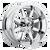 17x6.5 8x6.5 -1.76BS D536 Maverick Dually Rear Chrome - Fuel Off-Road