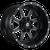 20x9 6x5.5/6x135 5.75BS D538 Maverick Matte Black Milled - Fuel Off-Road