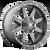 20x10 6x5.5/6x135 4.79BS D542 Maverick Matte Gunmetal - Fuel Off-Road