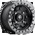 18x9 6x5.5 5.75BS D557 Anza Matte Black - Fuel Off-Road