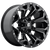 20x10 6x5.5/6x135 4.63BS D576 Assault Gloss Black Milled - Fuel Off-Road