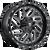 22x10 8x170 4.79BS D581 Triton Gloss Black Milled - Fuel Off-Road