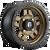 18x9 8x170 5.04BS D583 Anza Matte Bronze Black Bead Ring - Fuel Off-Road