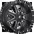 22x12 6x5.5/6x135 4.73BS D610 Maverick Gloss Milled - Fuel Off-Road
