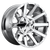 20x9 6x5.5/6x135 5.08BS D614 Contra Chrome Plated - Fuel Off-Road