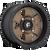 18x9 6x5.5 5.75BS D617 Podium Matte Bronze - Fuel Off-Road
