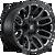 20x9 5x5.5/5x150 5.79BS D623 Warrior Gloss Black - Fuel Off-Road