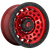 18x9 8x6.5 5.04BS D632 Zephyr Candy Red - Fuel Off-Road