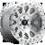 17x9 5x5 4.53BS D647 Vector Diamond Cut - Fuel Off-Road