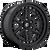 20x9 6x135 5.79BS D667 Nitro Matte Black - Fuel Off-Road