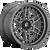 20x9 6x135 5.04BS D668 Nitro Matte Gunmetal - Fuel Off-Road