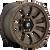 17x9 6x5.5 4.53BS D678 Tactic Matte Bronze - Fuel Off-Road
