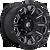 17x9 6x5.5 4.53BS D688 Vengance Gloss Black - Fuel Off-Road