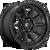 17x9 5x5 5.04BS D689 Torque Matte Black - Fuel Off-Road