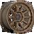 18x9 5x5.5 5.79BS D690 Torque Matte Bronze - Fuel Off-Road