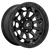 17x9 8x6.5 5.04BS D694 Covert Matte Black - Fuel Off-Road