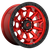 18x9 5x5.5 5.04BS D695 Covert Candy Red Black Bead Ring - Fuel Off-Road