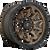 18x9 6x135 5.79BS D696 Convert Bronze w/Black Lip - Fuel Off-Road