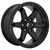 18x9 6x5.5 5.04BS D697 Kicker Matte Black - Fuel Off-Road