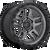 20x9 5x150 5.79BS D701 Ammo Matte Gunmetal - Fuel Off-Road