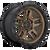 18x9 6x135 5.04BS D702 Ammo Matte Bronze - Fuel Off-Road