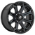 18x9 8x6.5 5.04BS D704 Siege Gloss Machined - Fuel Off-Road