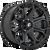 18x9 6x5.5 5.04BS D704 Siege Gloss Machined - Fuel Off-Road