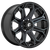 20x9 6x5.5 5.79BS D704 Siege Gloss Machined - Fuel Off-Road