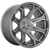 18x9 6x135 4.53BS D705 Siege Brushed Gunmetal - Fuel Off-Road
