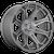 20x9 8x180 5.79BS D705 Siege Brushed Gunmetal - Fuel Off-Road