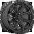 20x9 5x5 5.04BS D706 Siege Matte Black - Fuel Off-Road
