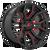 24x12 5x5/5x5.5 4.77BS D712 Rage Gloss Black - Fuel Off-Road