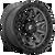 17x9 5x5 5.04BS D716 Covert Matte Gunmetal Black BR - Fuel Off-Road