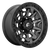 18x9 6x5.5 5.79BS D716 Covert Matte Gunmetal Black BR - Fuel Off-Road