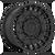 17x9 5x4.5/5x5 4.53BS D723 Militia Matte Black - Fuel Off-Road