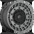 20x9 6x5.5/6x135 5.04BS D726 Militia Matte Anthracite - Fuel Off-Road