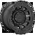 17x9 6x4.5/6x5.5 5.04BS D729 Tracker Satin Black - Fuel Off-Road