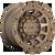 20x9 5x4.5/5x5 5.04BS D731 Tracker Matte Bronze - Fuel Off-Road