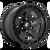 17x9 5x5 4.53BS D733 Warp Satin Black - Fuel Off-Road
