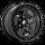 20x9 5x150 5.04BS D733 Warp Satin Black - Fuel Off-Road