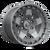20x9 5x150 5.04BS D734 Warp Matte Gunmetal - Fuel Off-Road
