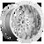 24x14 8x180 4.55BS D740 Runner Chrome - Fuel Off-Road