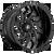 26x14 8x170 4.55BS D741 Runner Gloss Black - Fuel Off-Road