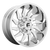 20x10 8x180 4.79BS D743 Saber Chrome - Fuel Off-Road