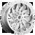 20x9 8x180 5.04BS D743 Saber Chrome - Fuel Off-Road